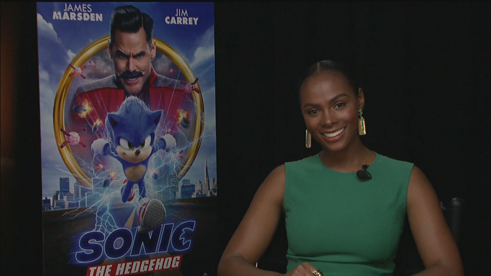 "Tika Sumpter on ""Sonic the Hedgehog"""