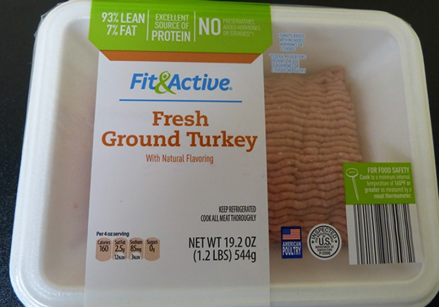One of the recalled turkey products. / Photo: USDA