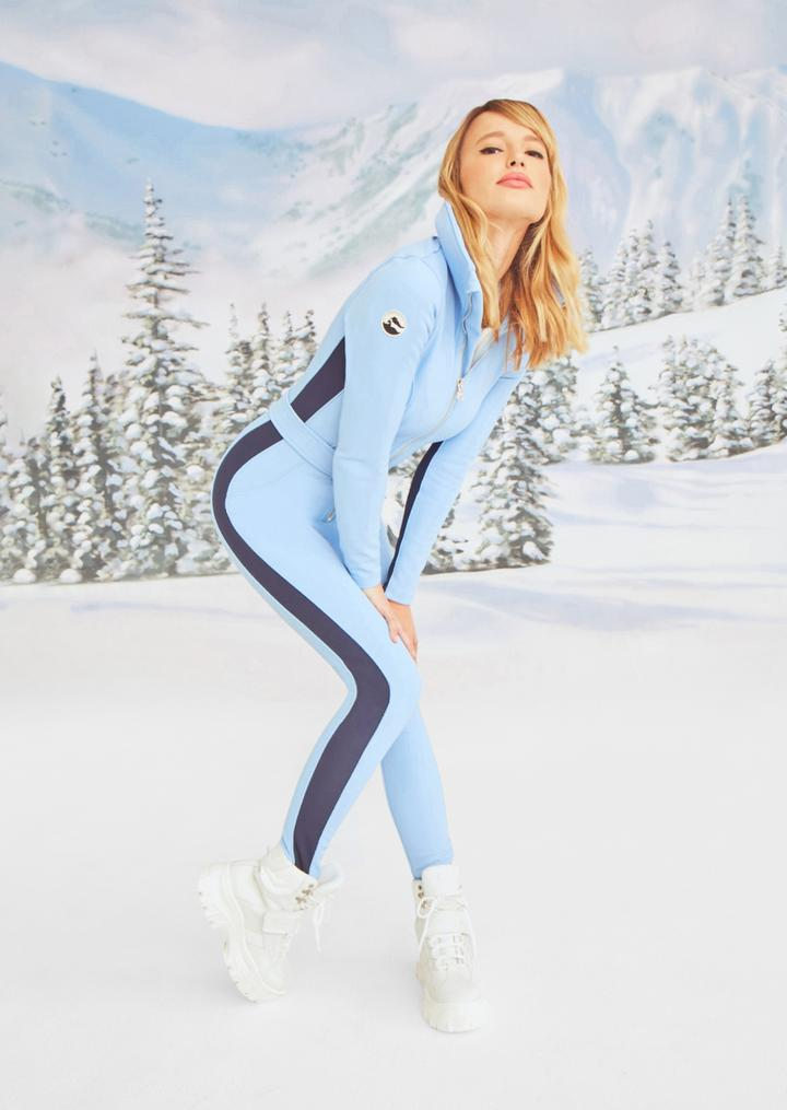 Inspired by the early 70's winter jet set, the Aspen is a playful nod to the stylish lifestyle of destination skiing.  Sleek, athletic and bold, the Aspen is a stunner at the finest winter locales. $918( Image: Cordova){ }{ }