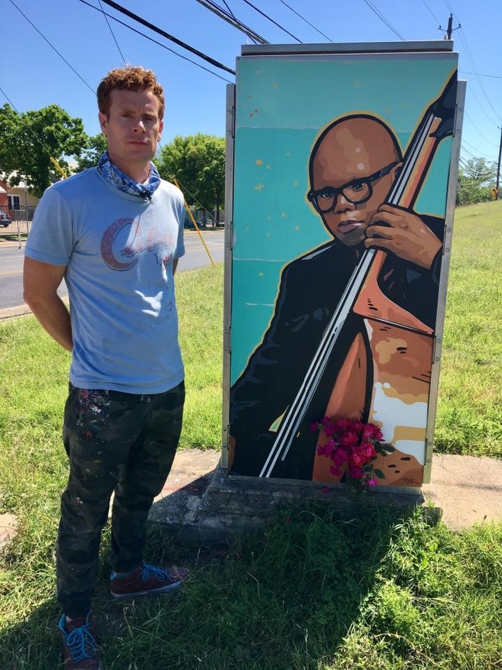 A mural has been dedicated to a victim of the Austin bombings. 17-year-old Draylen Mason was killed last month when a package bomb exploded inside his East Austin home. (CBS Austin)