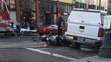 Motorcyclist injured in downtown Portland crash
