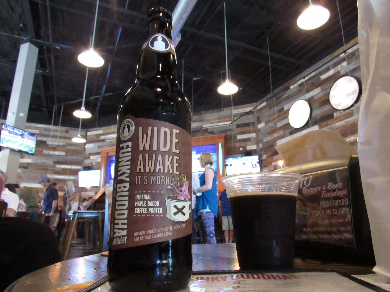 Funky Buddha Brewery special bottle release: Wide Awake, It's Morning 4.24.16 (Photo: Victoria Price/WPEC)