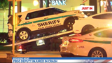 Deputy rear-ended in crash in Royal Palm Beach