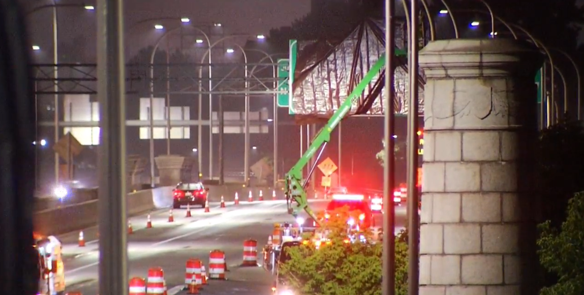 Gano Street Exit 3 closed on I-195 closed for the next year. (WJAR){ }