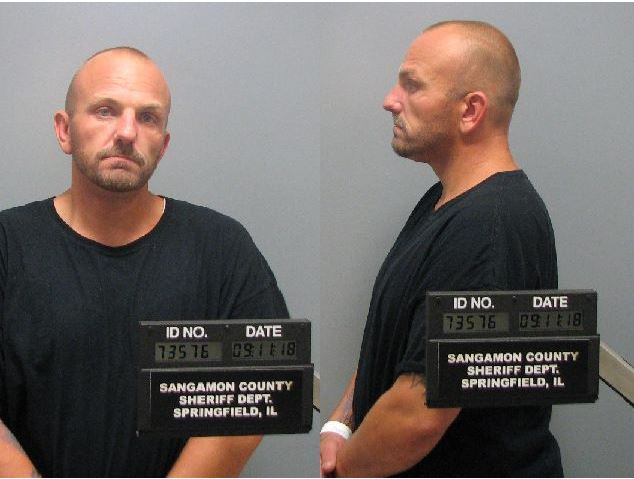 Pictured is Chad Martin. (Police photo)