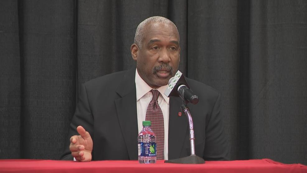 Gene Smith named Ryan Day the next head coach for Ohio State football on Dec. 4, 2018. (WSYX/WTTE)