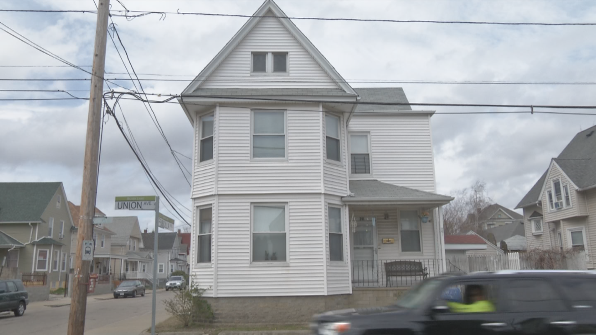 Ginalys Velazquez-Camara gave birth in this building without any medical help. (WJAR){ }