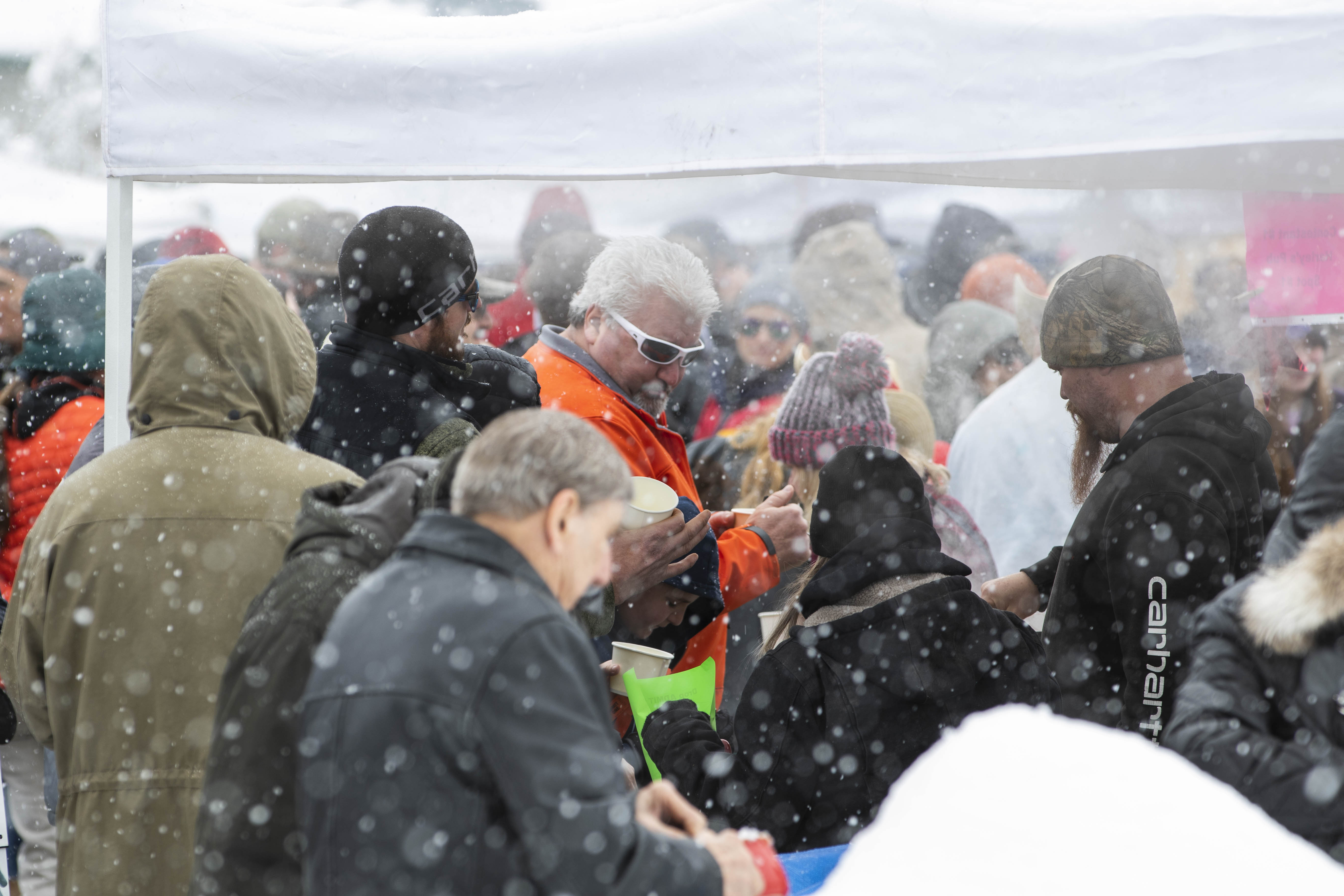 The 33rd Idaho City Chili Cook-Off took place Saturday in Idaho City. Teams from around the state competed to see who could make some of Idaho's best chili. A light snow fell to add to the fun in the downtown of the historical city. (Photos by Axel Quartarone)
