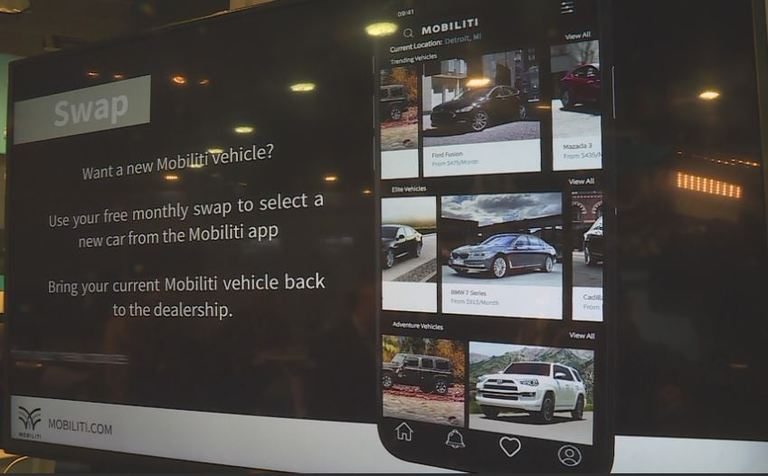 A Company called MobiliTi allows drivers to drive a new car every month.<p></p>