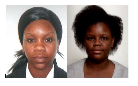 Zinhle Xaba (left) and Bongiwe Mjali (right) are accused of filing a false police report about an assault on Mackinac Island. (Photos Courtesy: Michigan State Police)