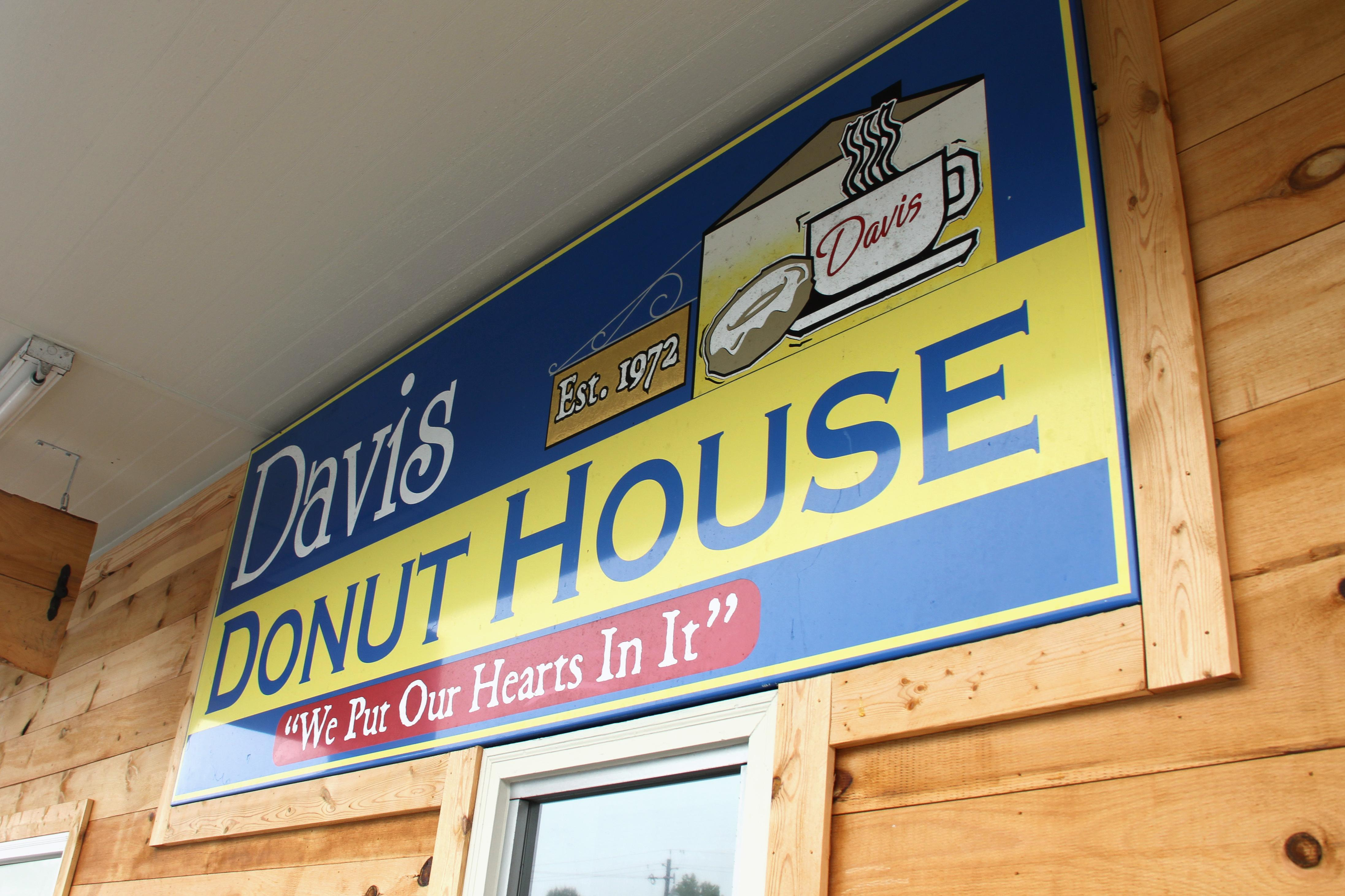"Davis Donut House has been a staple for people in Forest City since 1972 when its doors first opened. Since then, the business has changed hands and locations a number of times, but the ""small town friendly"" service and approach to doughnut-making has stayed the same. (Photo credit: Kelly Doty)"