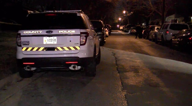 Police: Man, woman shot while inside vehicle in Maryland. (ABC7 photo)