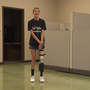 13-year-old bone cancer survivor gets special 3-D printed leg prosthetic