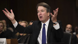 Fiery Kavanaugh denies quiet accuser Ford in Senate showdown