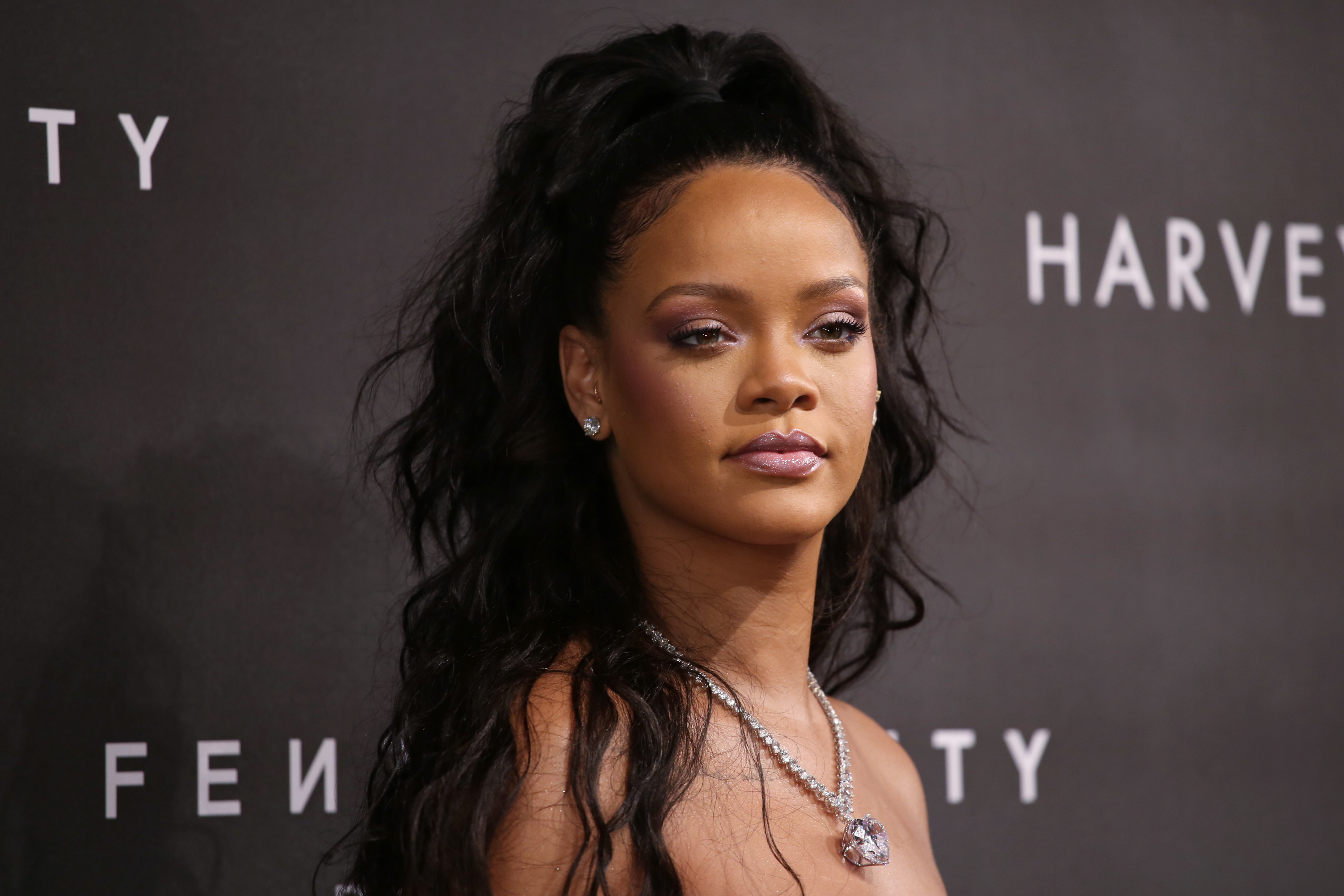 Fenty Beauty by Rihanna Launch held at Harvey Nichols - Arrivals  Featuring: Rihanna Where: London, United Kingdom When: 19 Sep 2017 Credit: Lia Toby/WENN.com