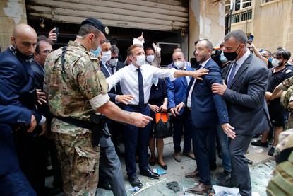 Lebanese Vent Fury At Leaders Over Blast As Macron Visits Wciv