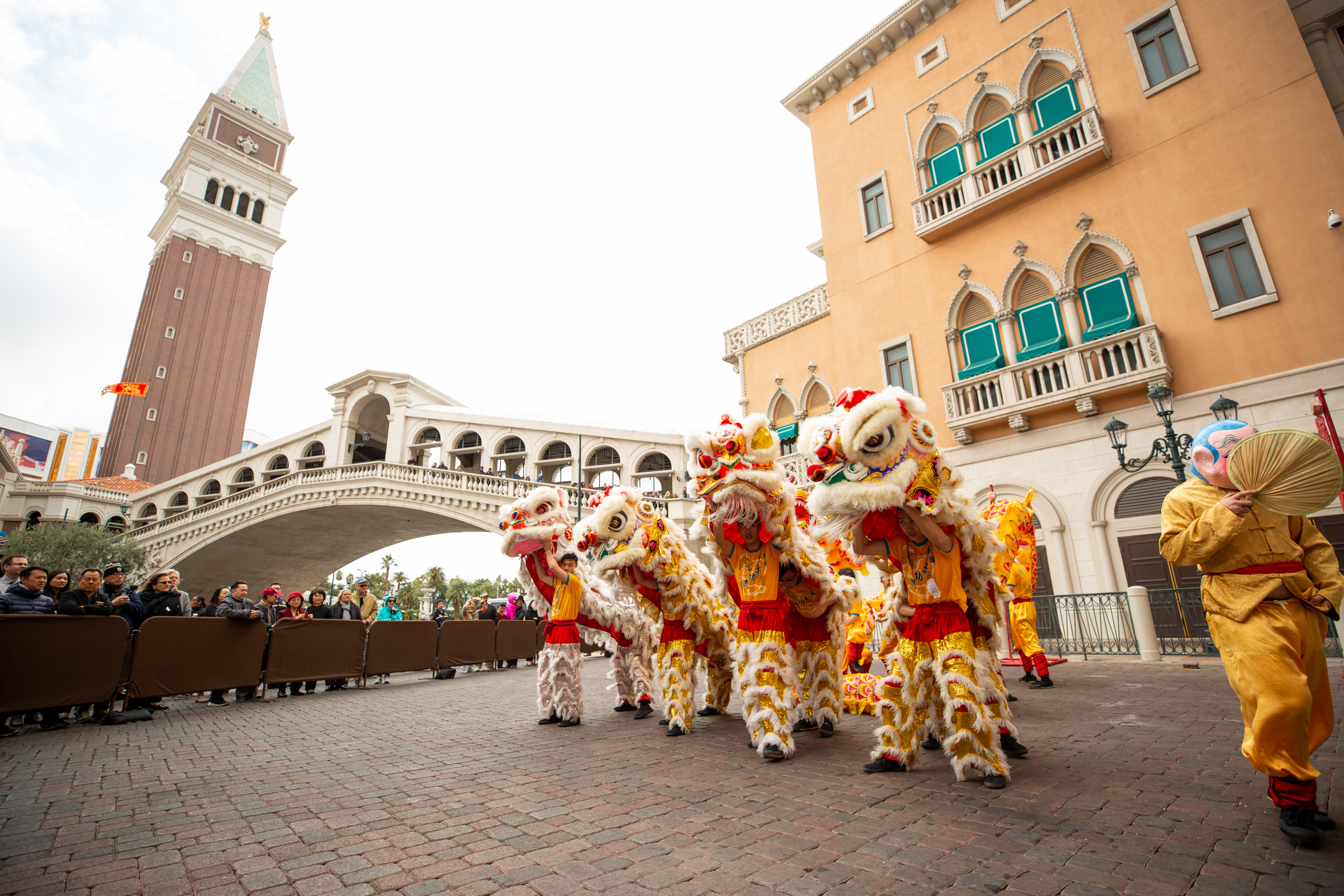 The Venetian Resort Las Vegas kicks off Chinese New Year with a traditional lion dance.jpg
