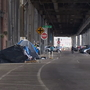 City continues to clear out homeless camps under viaduct as demolition starts