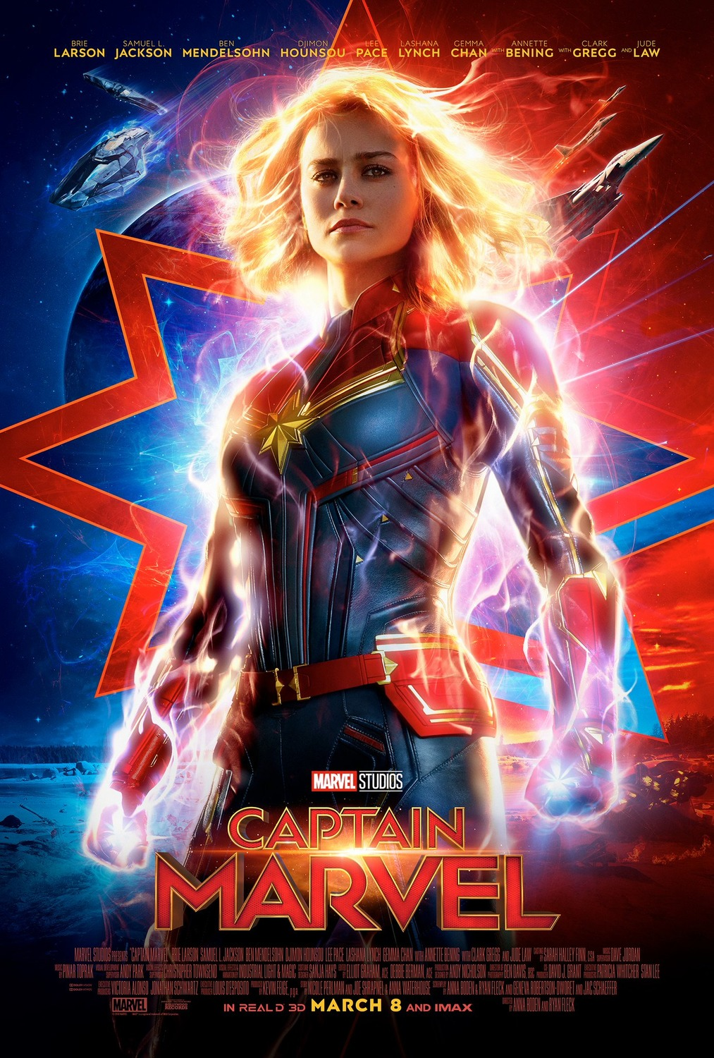 "Brie Larson stars as Carol Danvers in Marvel's ""Captain Marvel"" (Photo: Marvel){ }"