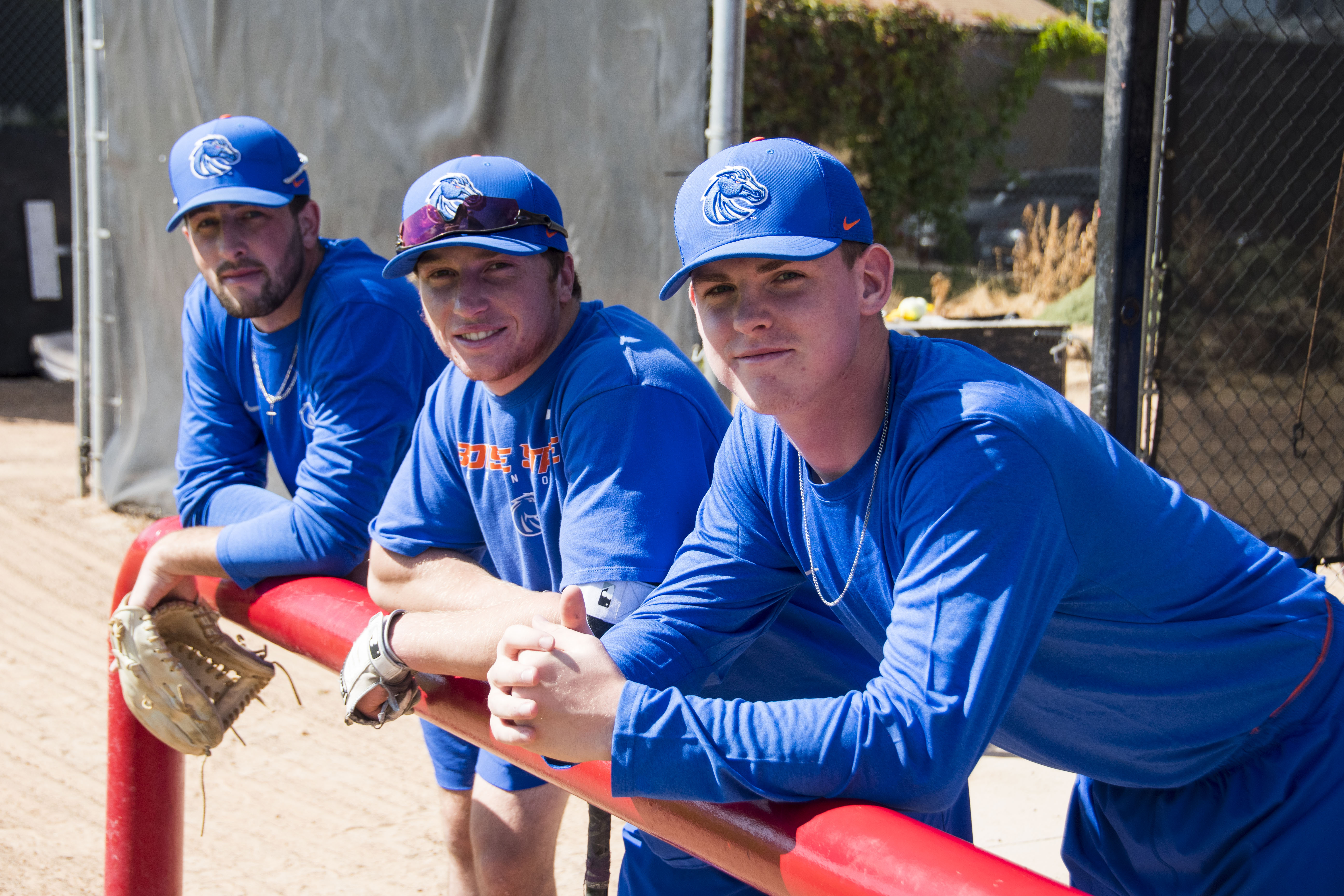 Members of the media met with the new Boise State Baseball team and even took a swing at a baseball or two Friday in Boise.{ }The Boise State baseball program is slated to return to the diamond for the 2020 season. (Axel Quartarone Photo)