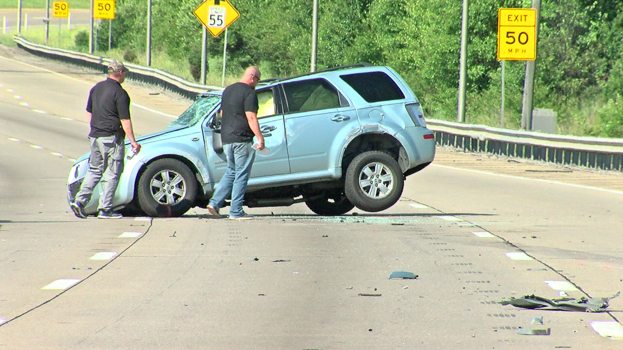 Baby critically injured after SUV hits stopped semi  (WKRC)