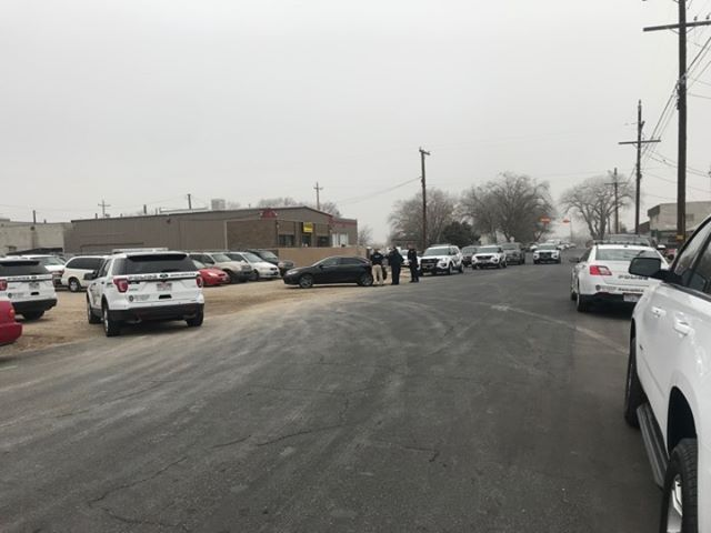 Police search for driver who rammed officers during  chase through Millcreek. (Photo: Jeremy Harris / KUTV)