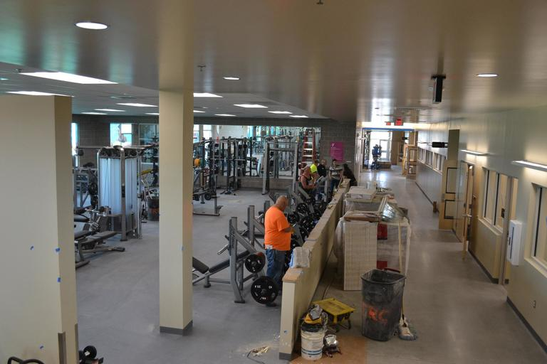 The highly anticipated grand opening of the South Meridian YMCA at the Hill is set for Friday, May 25.{ }{ }Located near S. Eagle and Amity Roads, is part of a 22.5-acre campus called The Hill, named for family members who donated farmland to the project.{ }The 60,000-square foot facility includes gyms, pickle ball{ }and basketball courts, fitness areas, an Adventure Zone for kids and will eventually be home to an indoor aquatic center and library. (KBOI Staff Photo)