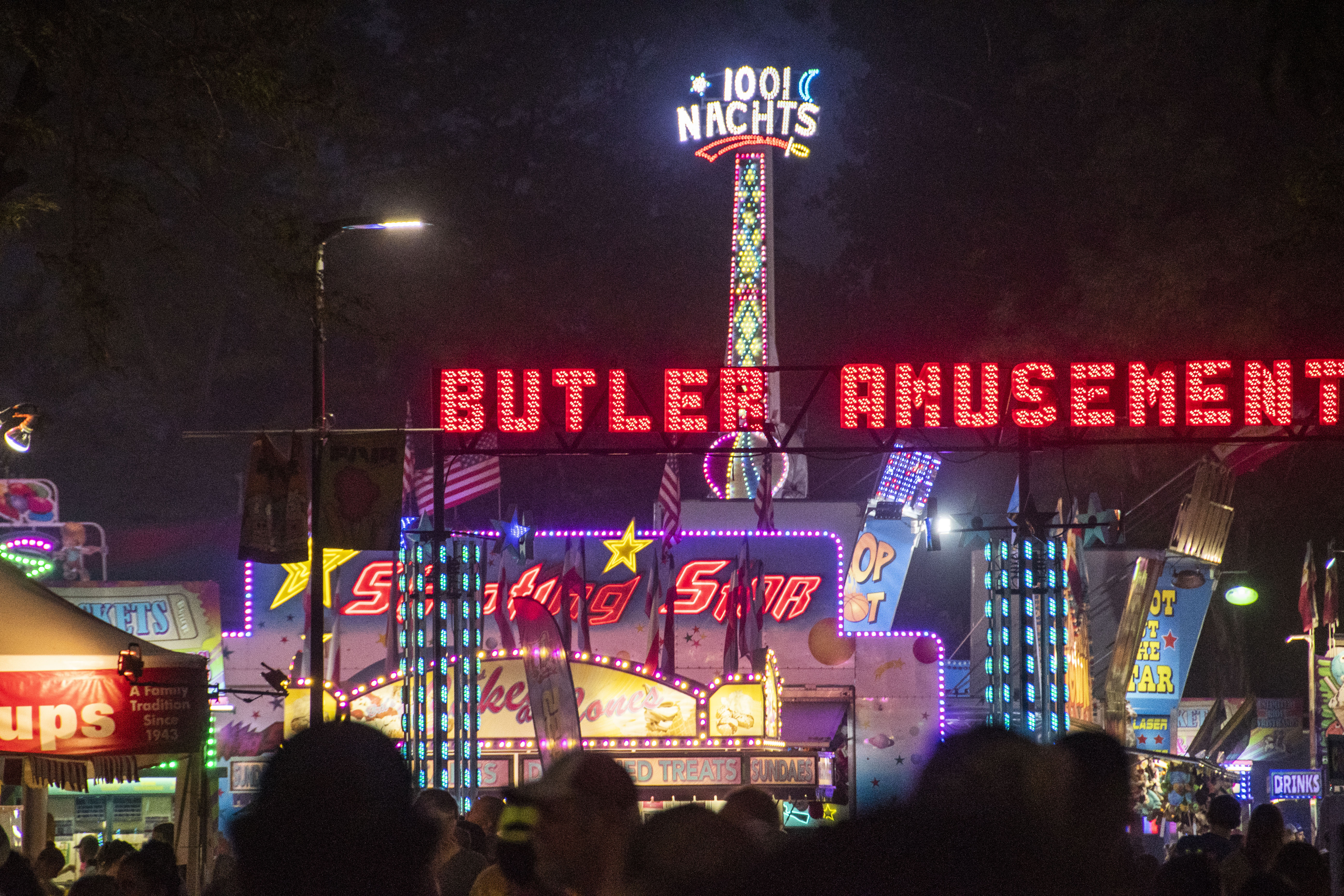Friday night was the first evening of the Western Idaho Fair. It will continue through August 26.