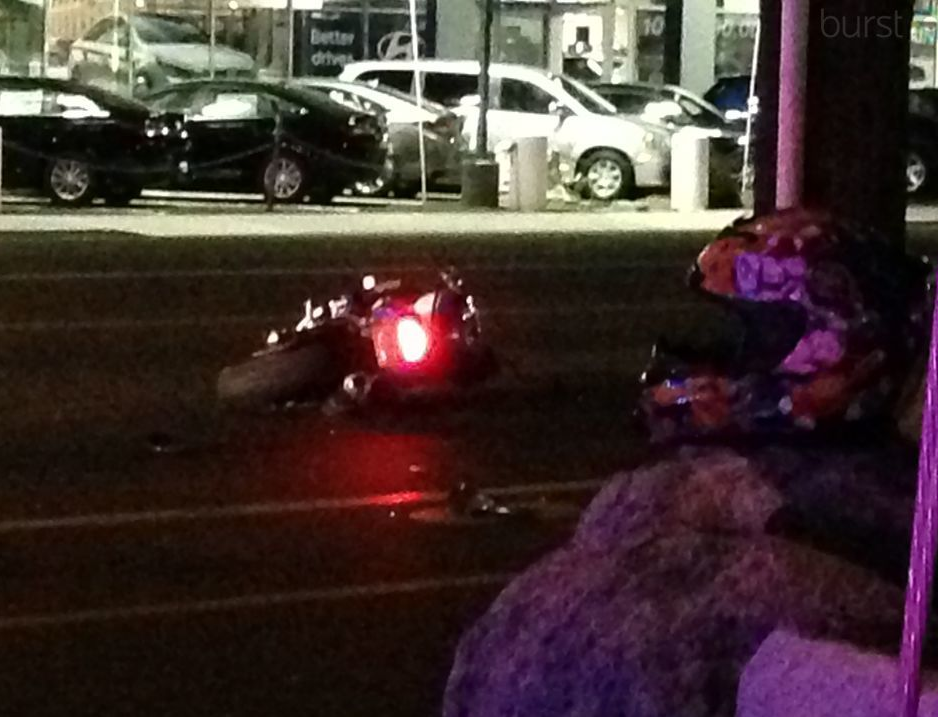 {&amp;nbsp;}Vehicle vs. Motorcyclist crash on Kietzke Ln. and Linden St.<p></p>