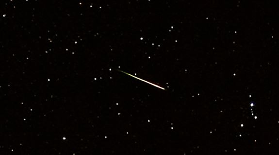 PHOTO: Orionid Meteor Shower, Photo Date: 10/22/2009 (Cropped Photo: John Flannery / CC BY-SA 2.0)<p></p>