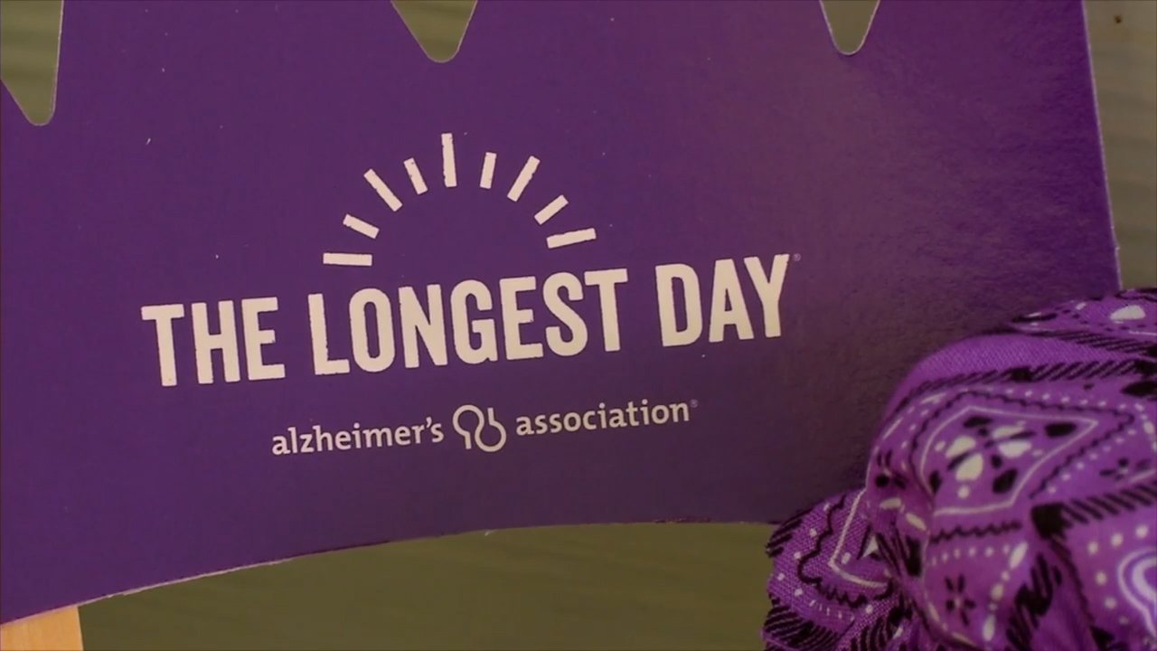 All across the nation, people participated in the Longest Day to honor those suffering from the disease and honor the caregivers, who have the longest day, every day. (Photo credit: WLOS Staff)