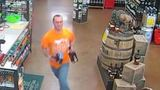 Crimestoppers search for man seen darting out of store with bottles of Crown, Jack Daniels