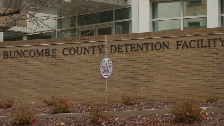 Buncombe County commissioners have approved a new body scanner for the detention center. (Photo credit: WLOS staff)