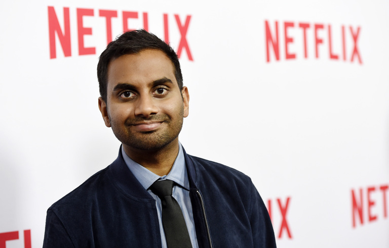 "Aziz Ansari, the star, writer, director and co-creator of the Netflix series ""Master of None,"" poses at an Emmy For Your Consideration screening of the show at The Paley Center on Wednesday, May 18, 2016, in Beverly Hills, Calif. (Photo by Chris Pizzello/Invision/AP)"