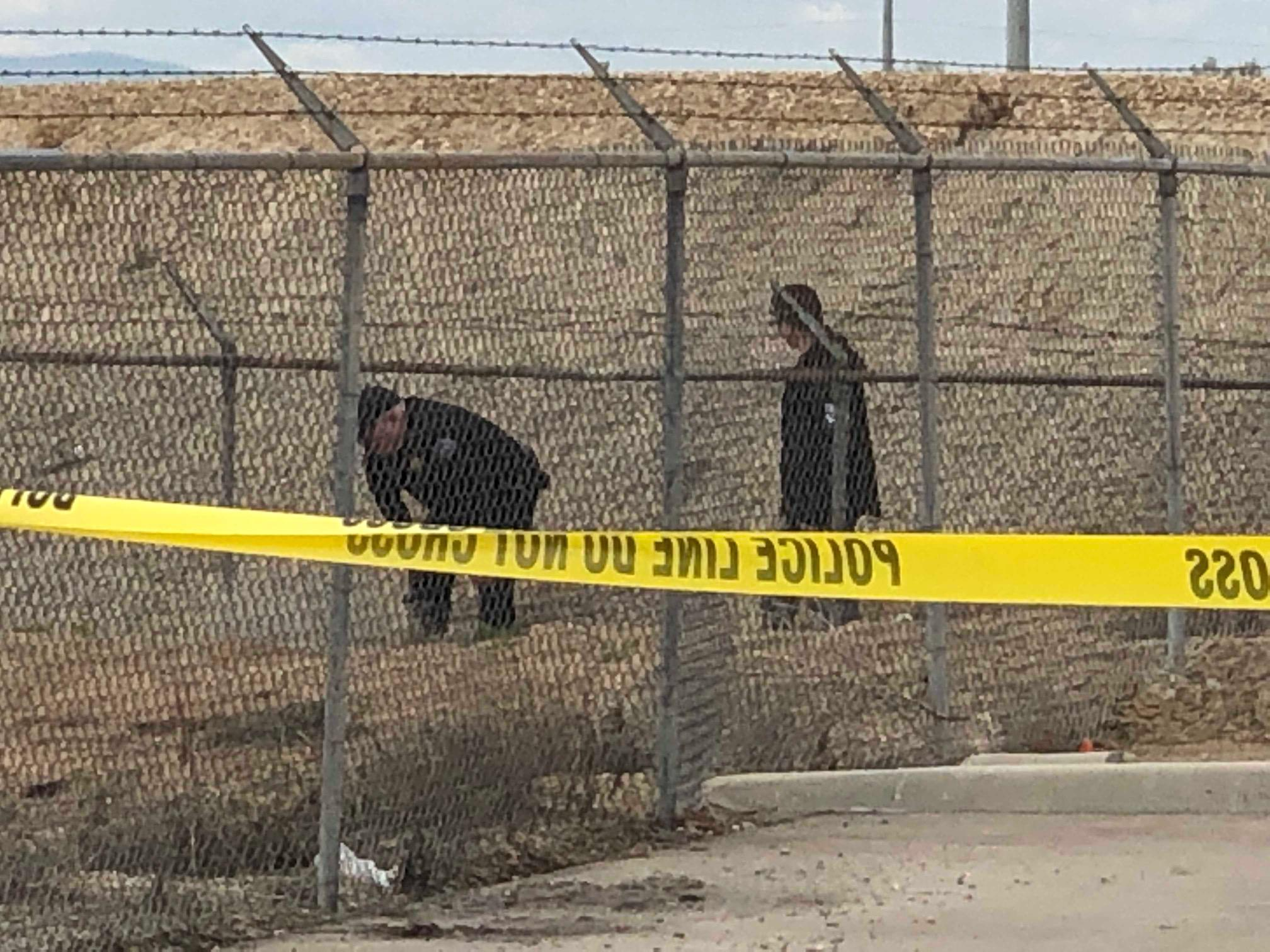 Body found near Sugar Beet factory in Nampa. (CBS 2 Staff Photo)