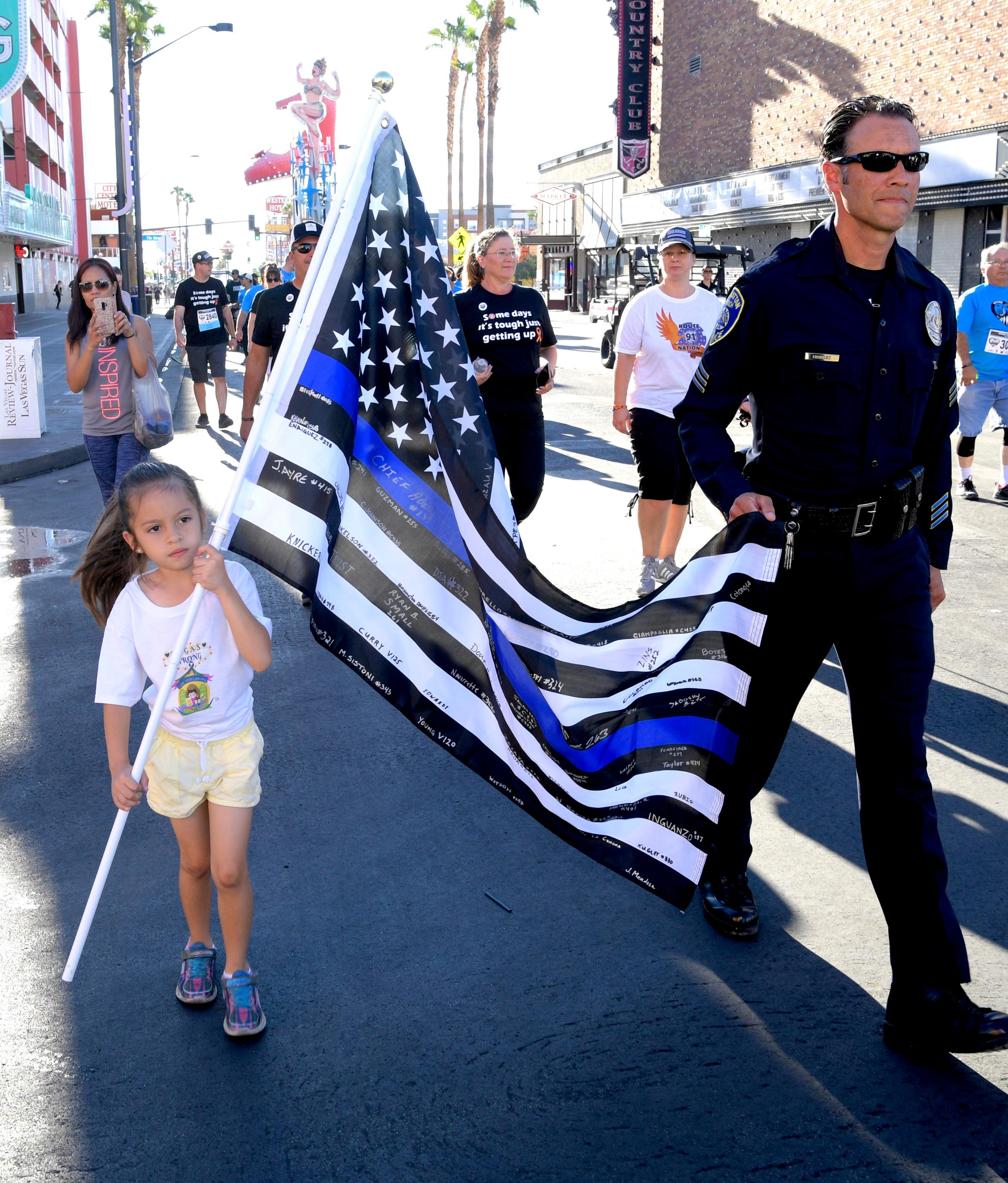 Vegas Strong 5K/1-Mile event is held downtown Las Vegas. Sunday, September 30, 2018. CREDIT: Glenn Pinkerton/Las Vegas News Bureau