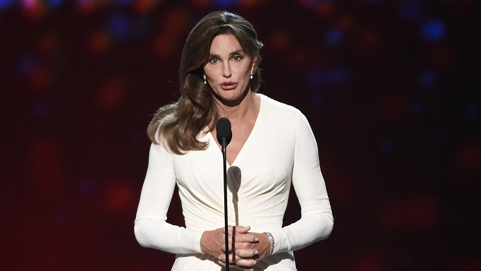 "FILE - In this Wednesday, July 15, 2015 file photo, Caitlyn Jenner accepts the Arthur Ashe award for courage at the ESPY Awards at the Microsoft Theater in Los Angeles. Sheriff's investigators plan to recommend prosecutors file a vehicular manslaughter charge against Jenner for her role in a fatal car crash on the Pacific Coast Highway in Malibu last February. Los Angeles County Sheriff's Department spokeswoman Nicole Nishida says investigators found that Jenner was driving ""unsafe for the prevailing road conditions"" because her SUV rear-ended a Lexus, pushing it into oncoming traffic.  (Photo by Chris Pizzello/Invision/AP,File)"