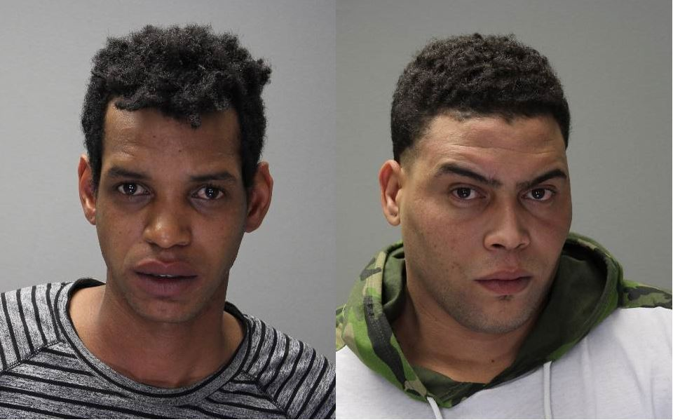 Raciel Diaz-Diaz (L) and Carlos Cabrera Quintero (R) were charged with criminal possession of a forged instrument with the intent to use. Both were arraigned and remanded to the Ontario County Jail on $30,000 cash or $60,000 bond. (Photos: Times of Wayne County)