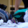 Hundreds line up at Ohio Valley Mall to receive clothing vouchers
