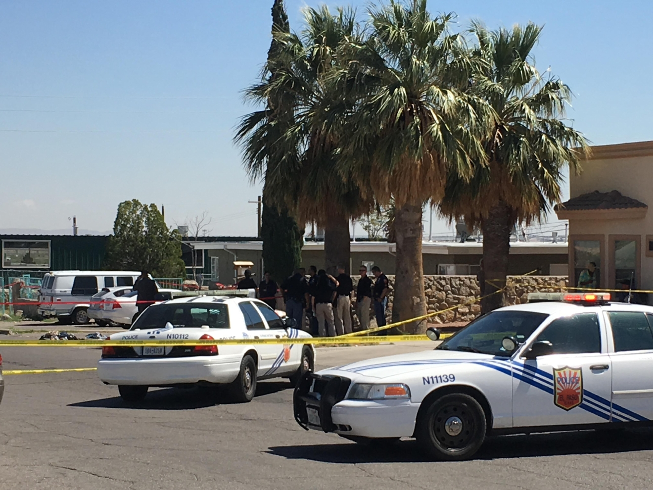 One person was killed Wednesday after a stabbing in northeast El Paso on March 22, 2017. Credit: KFOX14 / CBS4