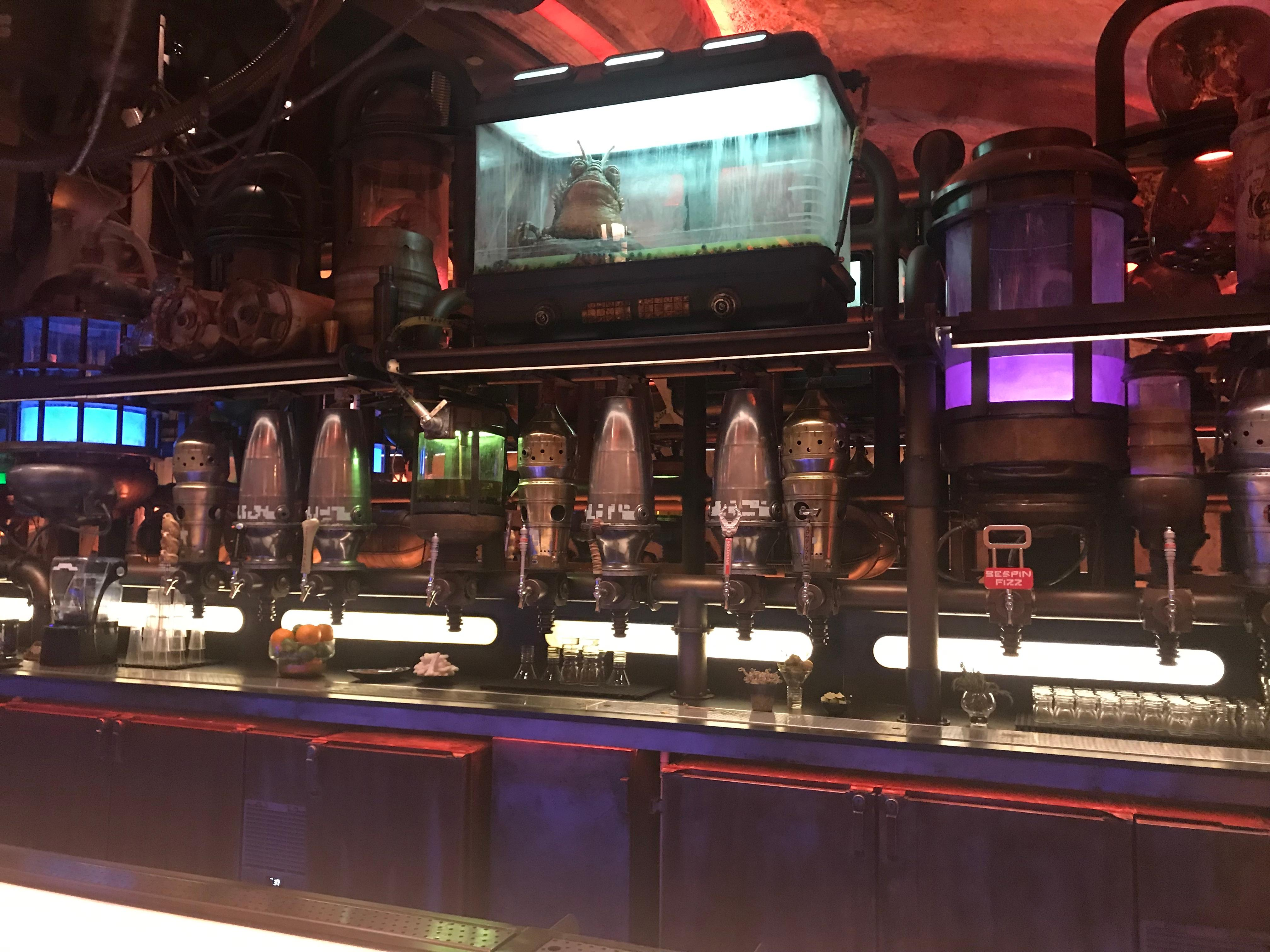 Oga's Cantina offers a variety of drinks for travelers looking to kick back and relax. (Photo: Ryan Michael Painter)
