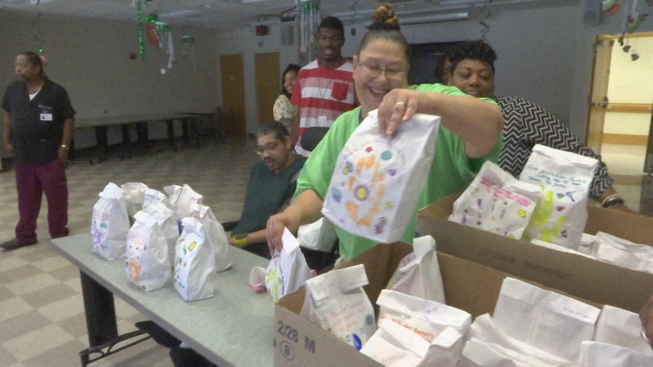 Stillwater Center donates bagged lunches to women's shelter on National Service Day (WKEF/WRGT){ }