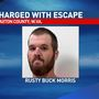 Shackled inmate makes brief escape from Braxton County Courthouse, records say