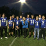 Getting ready for Thursday Night Lights with the Brookville Blue Devils