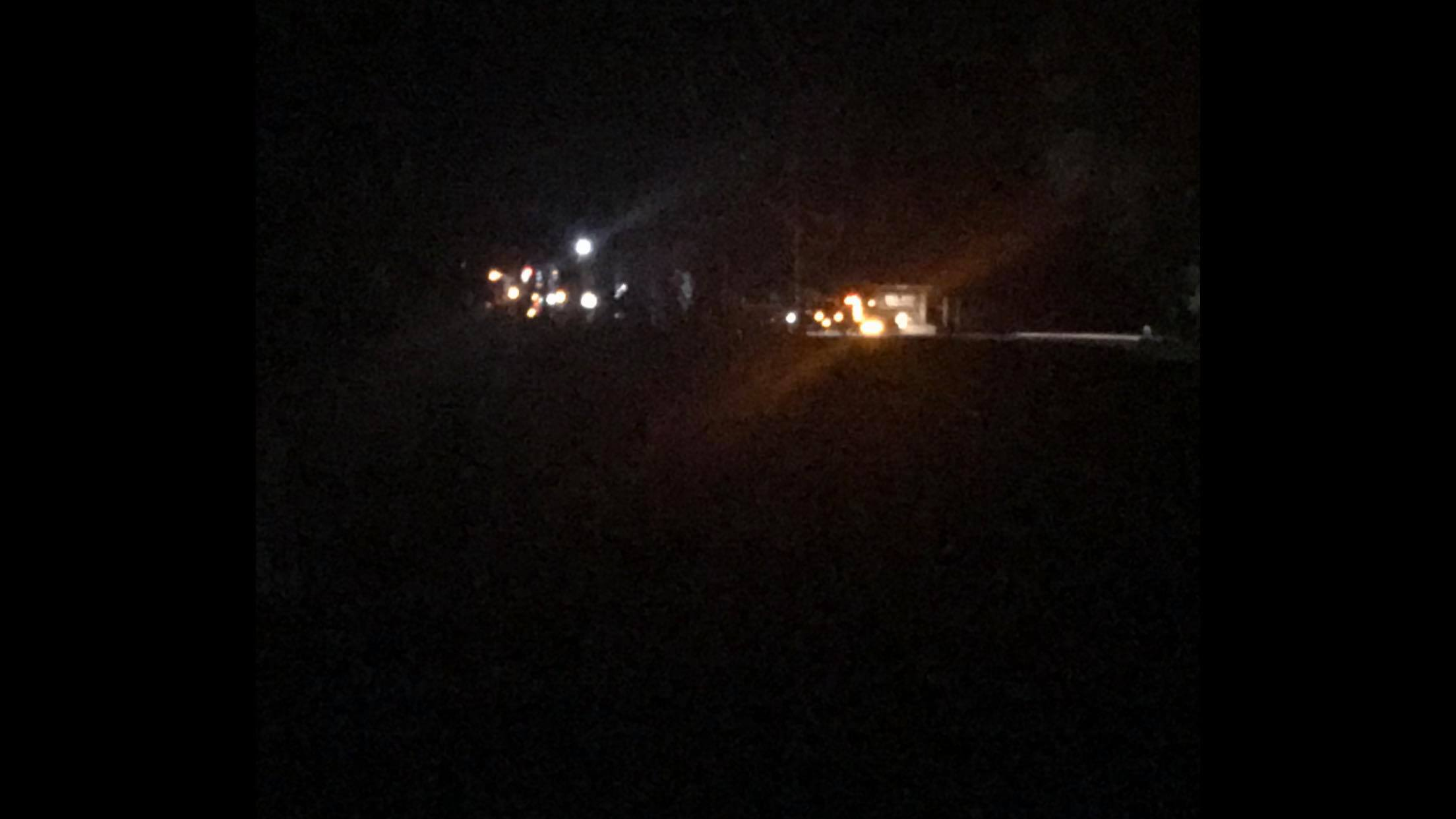 Glen Smith sent in this picture down the street from the fatal crash near Birdseye Creek. (Courtesy: Glen Smith)