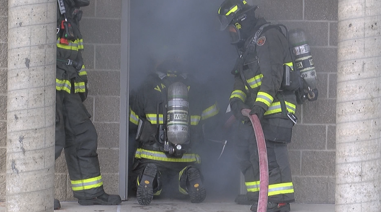 City leaders experience the life of a firefighter