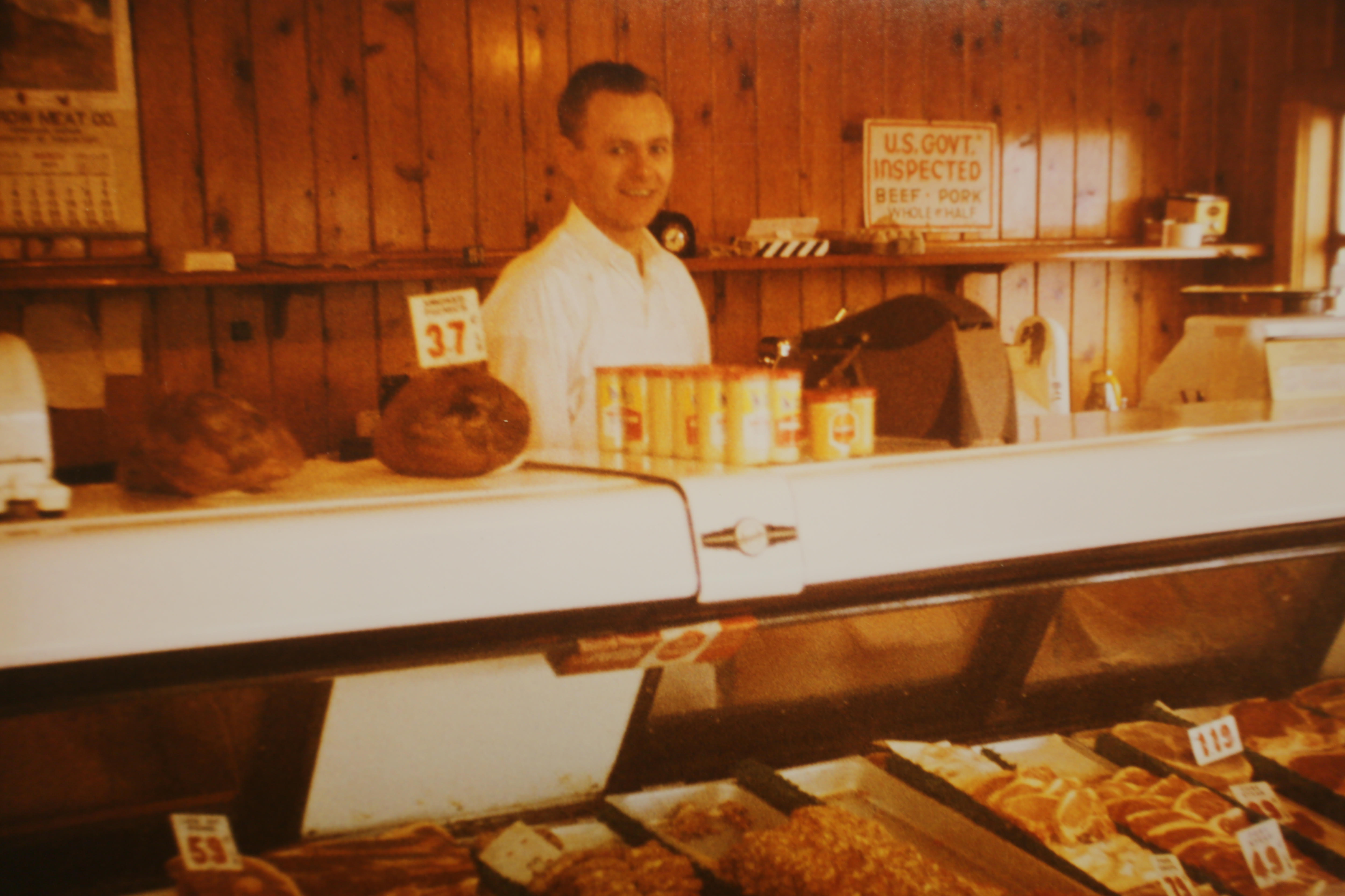 Sherm Olsrud bought Wilson's Sausage Kitchen in 1958.