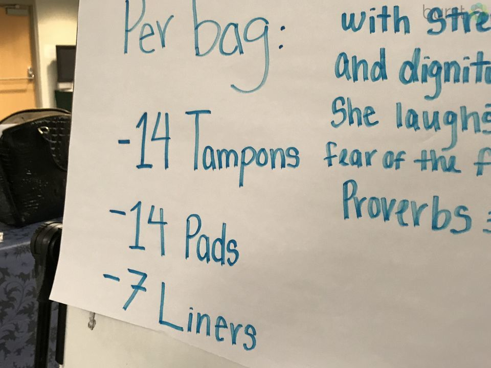 A group of Genesee County teens are raising money to buy menstrual products for low-income and homeless women.{&amp;nbsp;}<p>(Photo: WEYI/WSMH)<br></p>