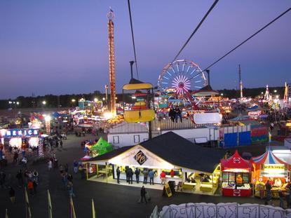 coastal carolina fair events