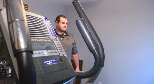 Wes Malone, who lives in Myrtle Beach, signed up for HealthyWage in January.{&amp;nbsp;} He set a goal to lose 30 pounds in 10 months, betting $60 a month (Liz Cooper/WPDE)<p></p>